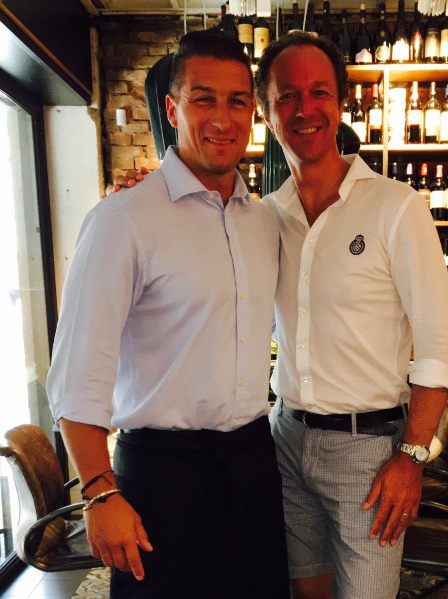 Ospite Eric Simonet, Direttore Internazionale Ruinart Champagne