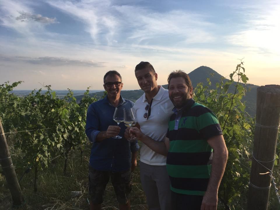 Visita alla cantina Monteversa con il responsabile Giovanni Bressanin