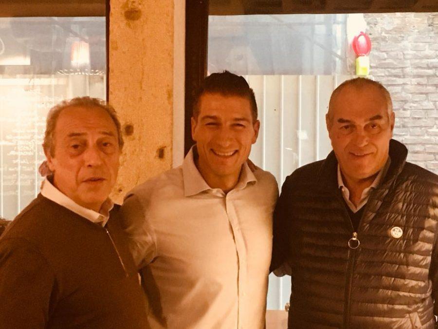Allo Chat Qui Rit ospiti Enrico Berta (Distilleria Berta) e Mario Cordero (Vietti)