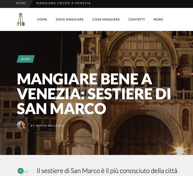 Dove mangiare nel sestiere di San Marco — i consigli di Mangiare Bene Venezia