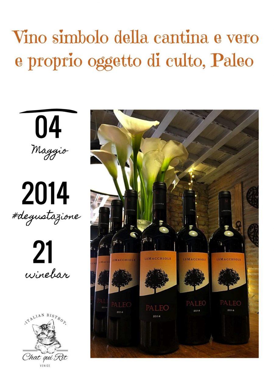 #paleoperungiorno: Il Toscana Rosso Paleo della Cantina Le Macchiole