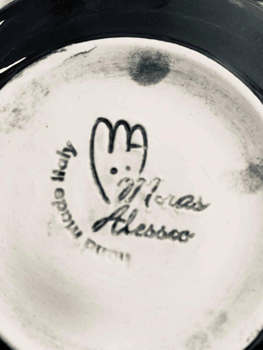 La ceramica Alessio Moras per lo Chat qui Rit