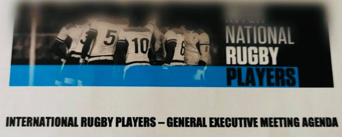 International Rugby Player – General Executive Meeting Agenda