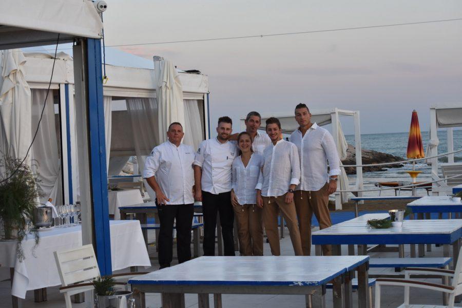 Cena in Riva al Mare