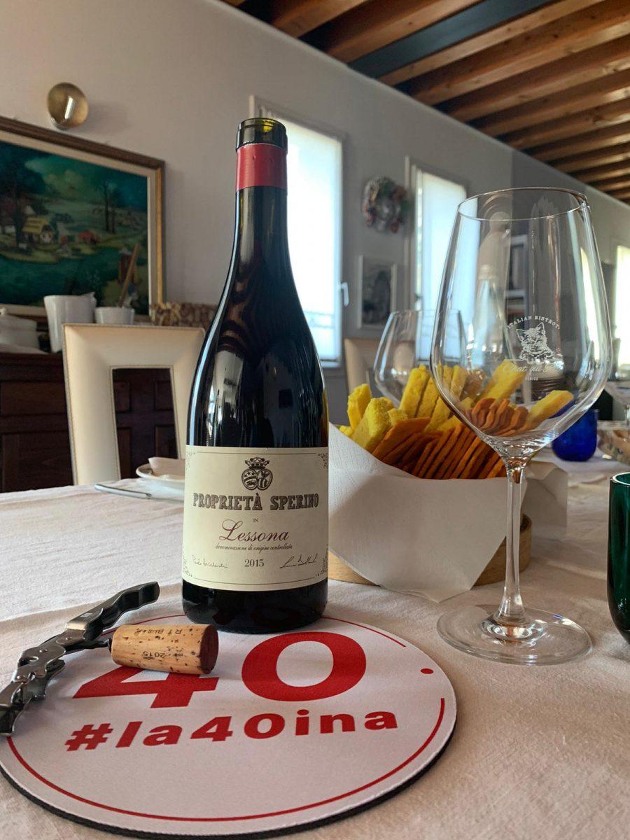 #la40ina una quarantina di vini: sessione 1 turno 6